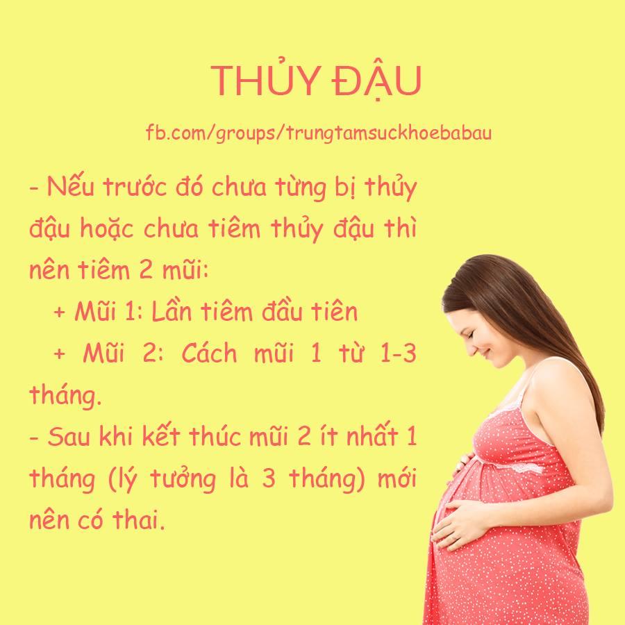 Tiêm phòng trước khi mang thai rất cần thiết